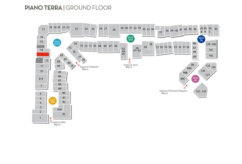 Mappa Borgo Tessile