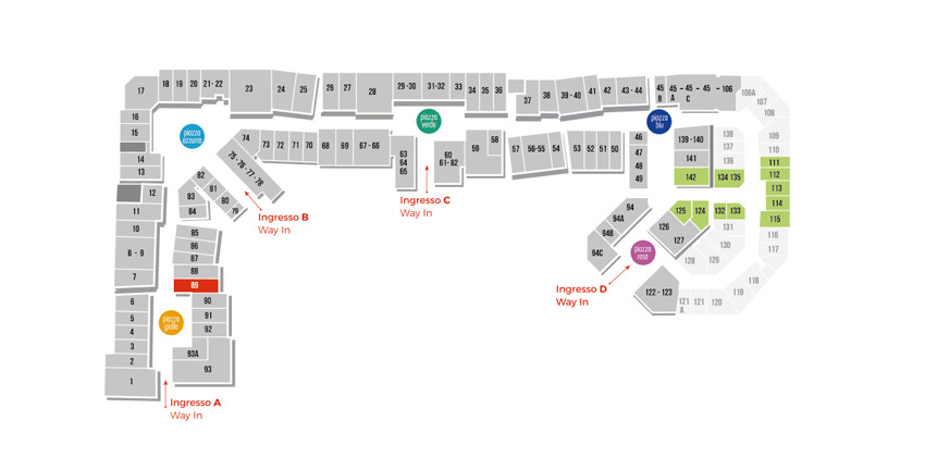 Mappa Kennet Street