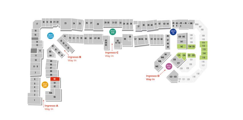 Mappa Bagaria Caffetteria