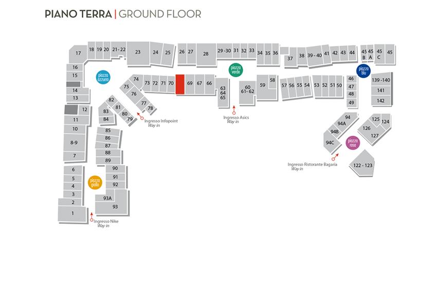 Mappa Lea & Flò Three Brands