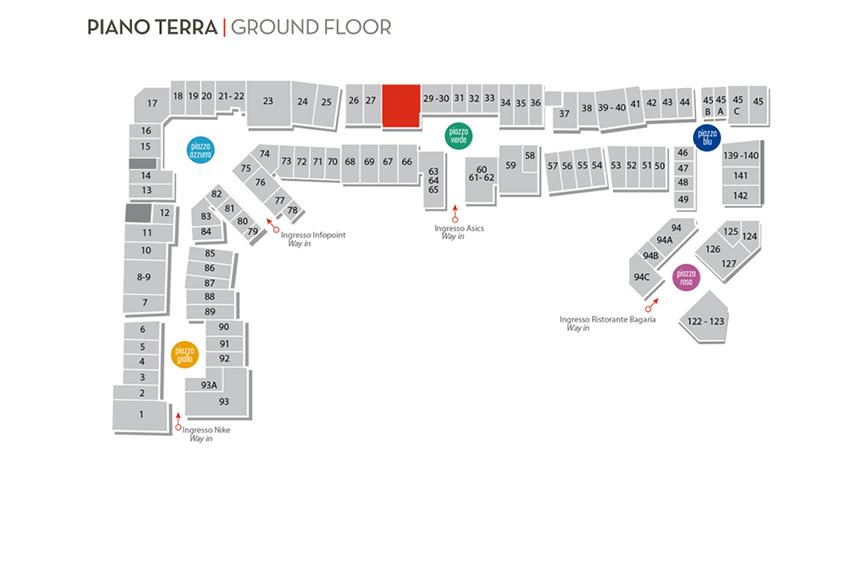Mappa VB Fashion Outlet