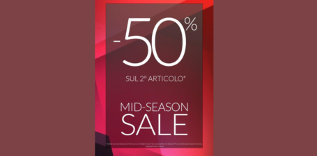 Sconto del 50%…