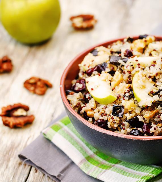 Quinoa: spopola l'healthy food