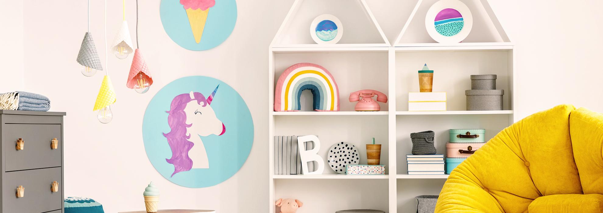 Dipinti Murali Per Camerette consigli e idee per la cameretta per bambini fai da te