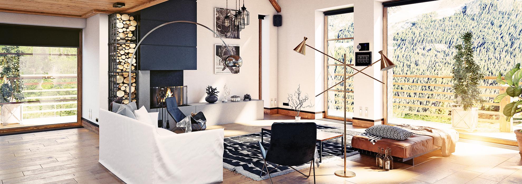 Come Arredare Una Casa In Stile Moderno.Come Arredare Una Casa Di Montagna In Stile Moderno Citta Sant Angelo Village