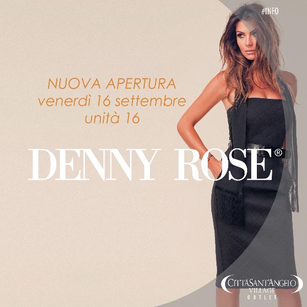 separation shoes d0e16 a62ca Nuova Apertura – Denny Rose - Città Sant'Angelo Village