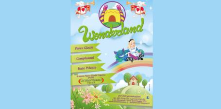 Prenota subito la tua festa al parco giochi Wonderland!