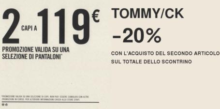 Levi's 2×119 • Tommy/CK -20%