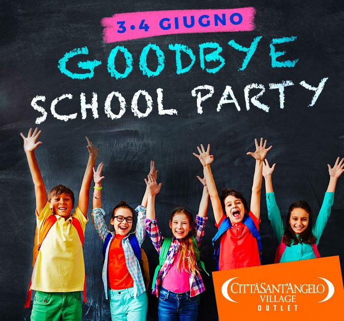 3-4 giugno goodbye school party