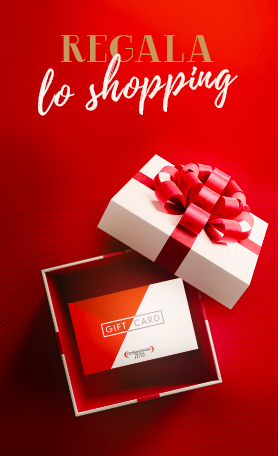 A Natale regala lo shopping: scopri la Gift Card dell'Outlet