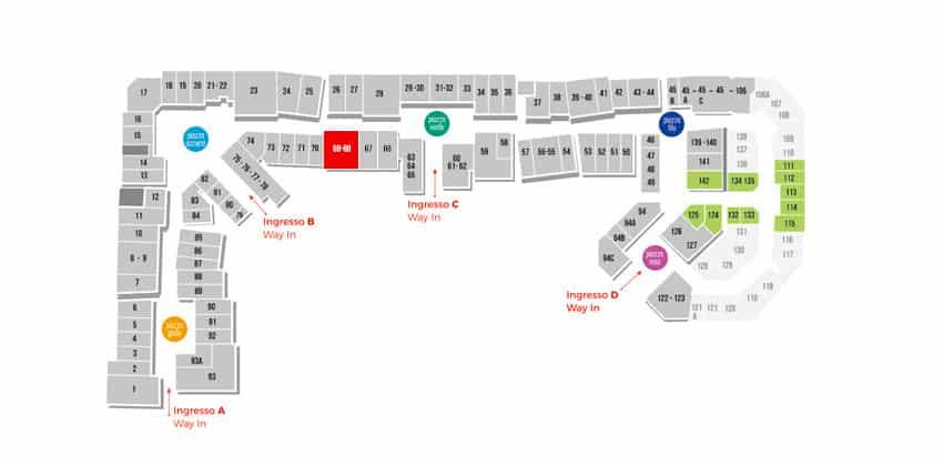 Mappa General Store U.S.A.