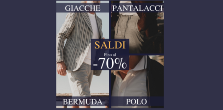 Crazy Sales da Sartoria Italiana!