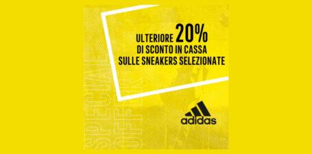 Da Adidas -20% su sneakers selezionate