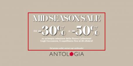 Mid Season Sale da Antologia