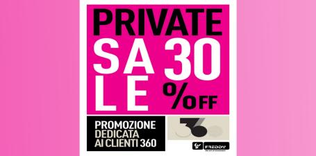 Private Sale 30% off da Freddy